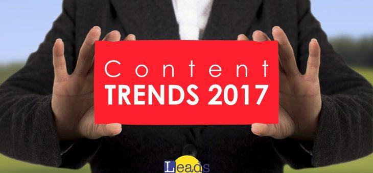 Content Trends 2017 – pesquisa apresenta resultados inéditos sobre marketing de conteúdo